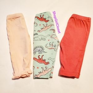 Carter's 3pc Bundle Girls Pants 3M